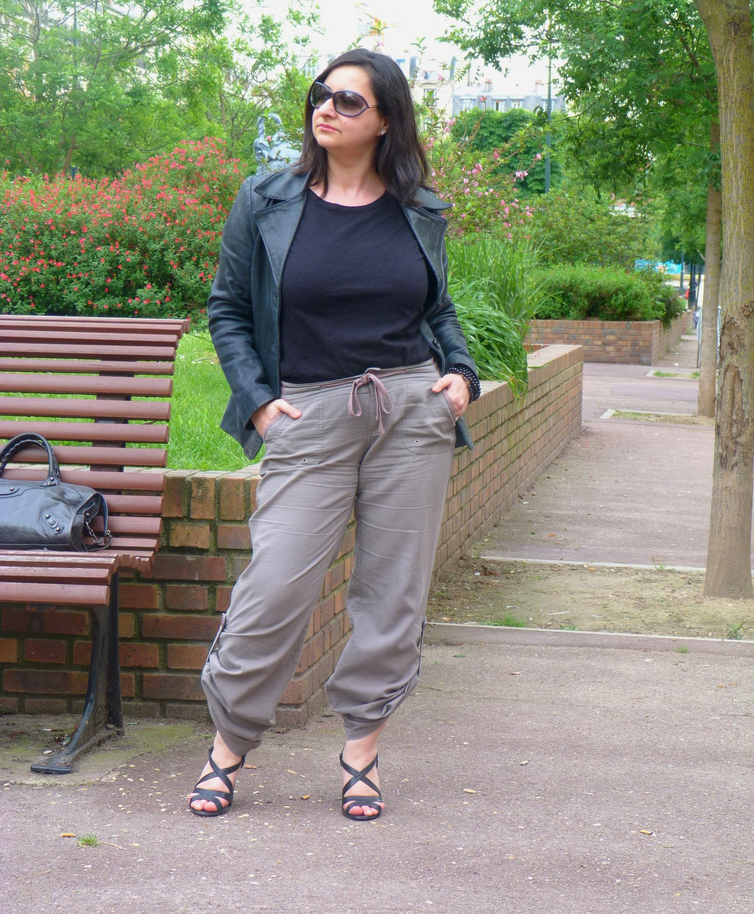 Army pant, Baroudeuse chic