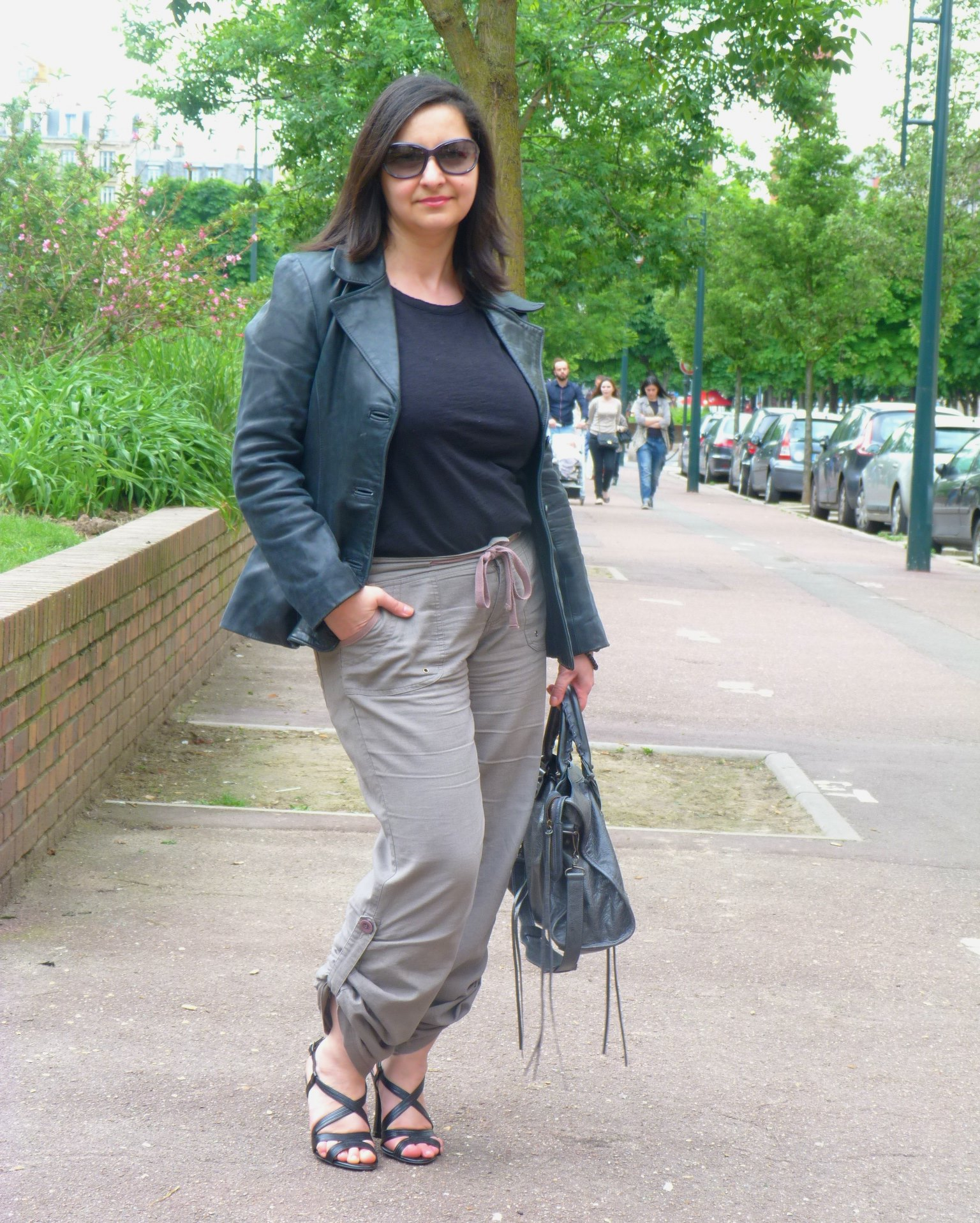 Baroudeuse chic, army pant