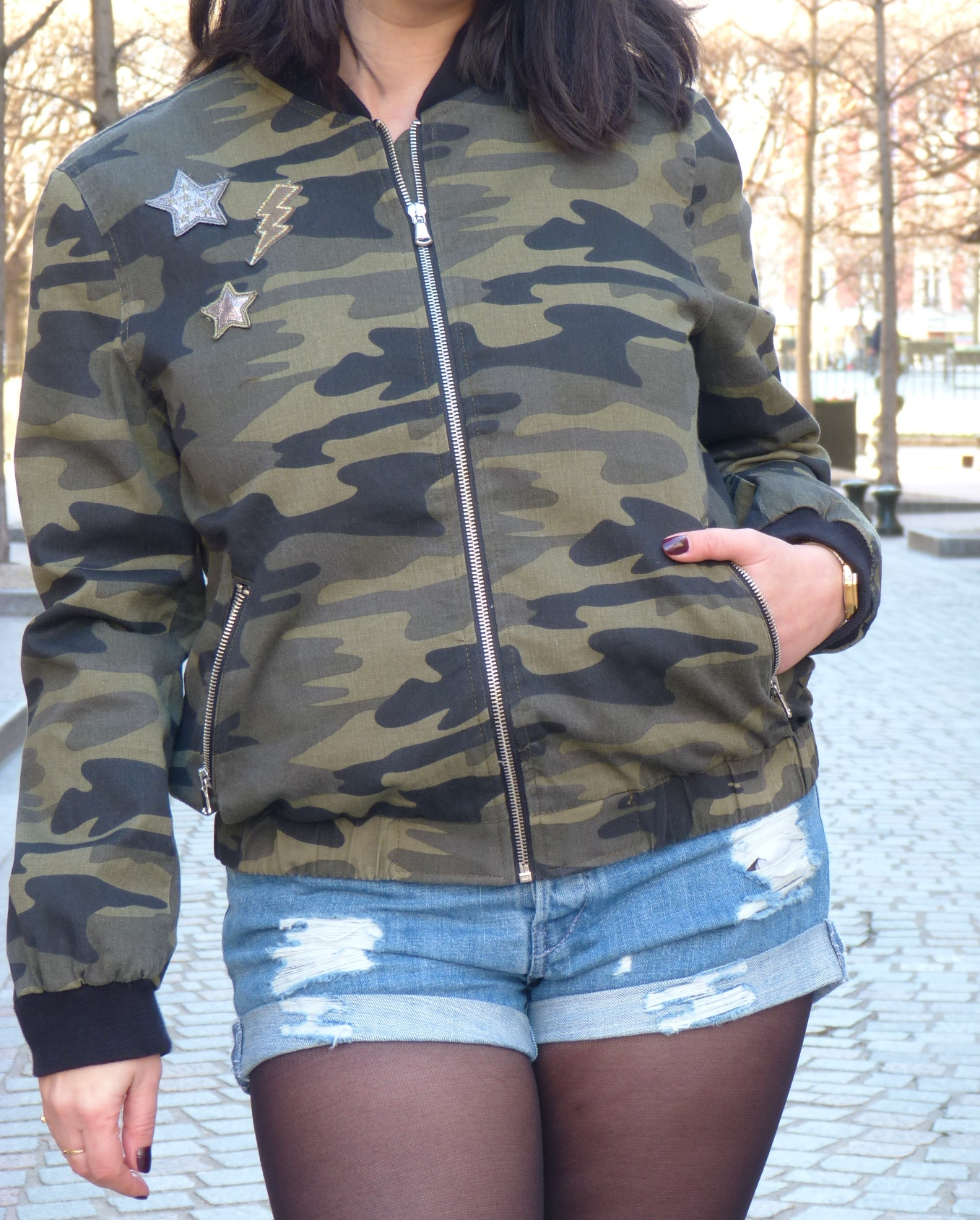 Zara Army Jacket