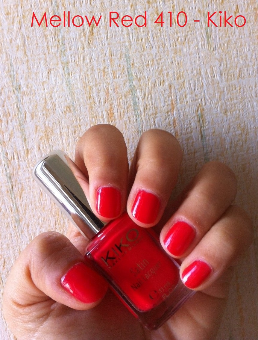 N°410 - Mellow Red - Kiko Cosmetics