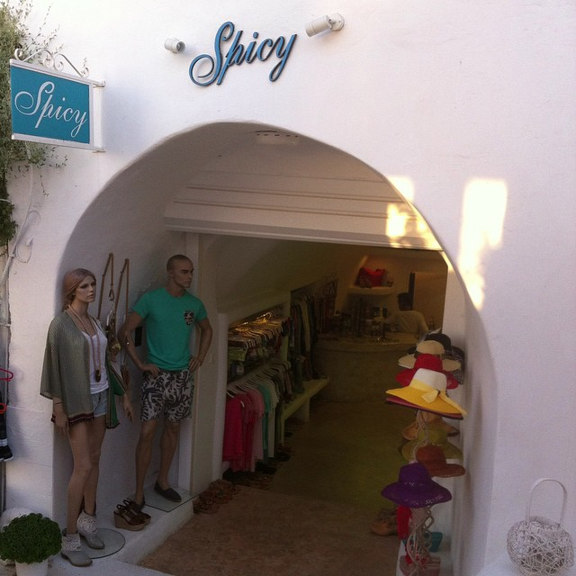 Spicy Fashion store - Fira - Santorini