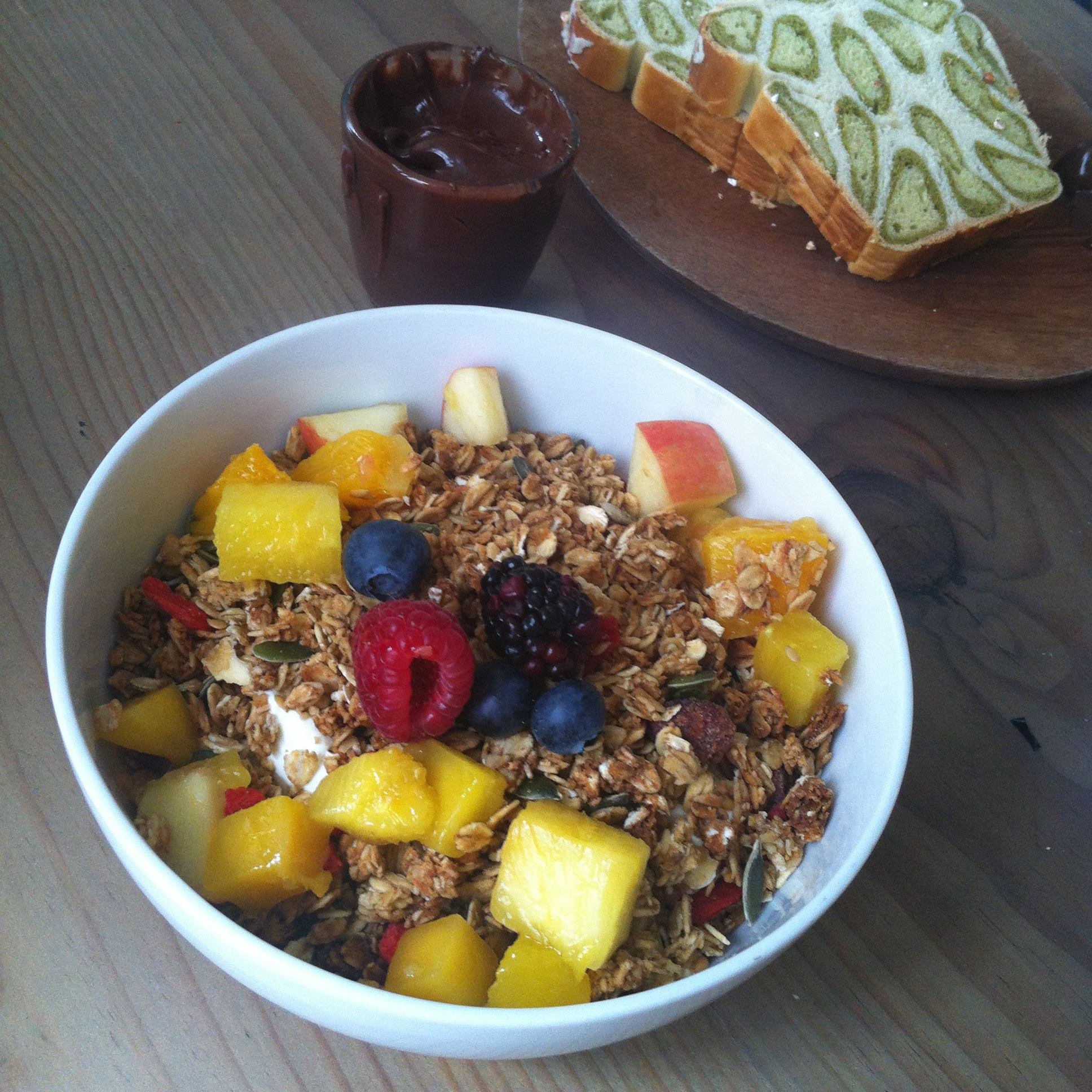Muesli bowl & Matcha cake 2 - SEASON Paris