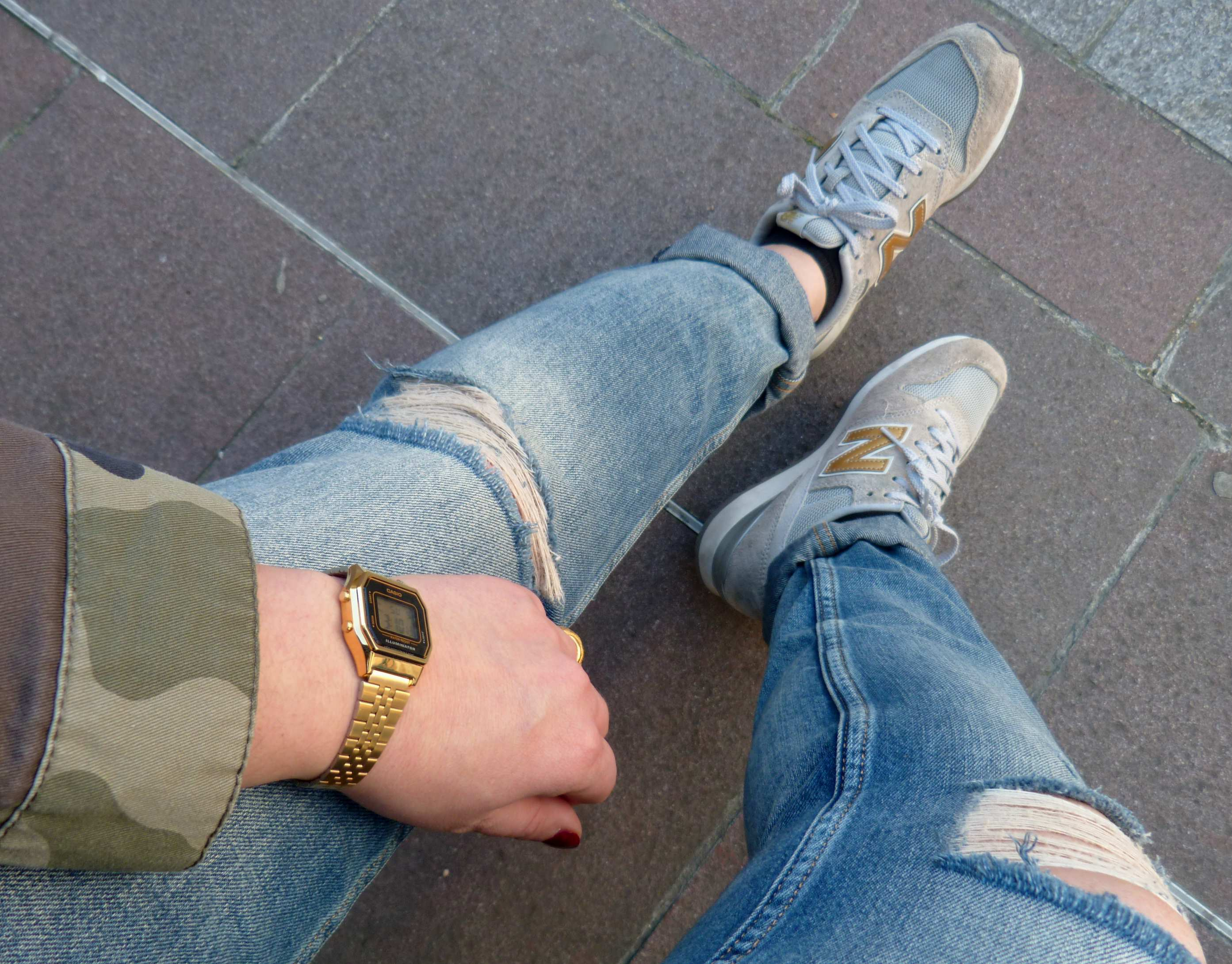 New Balance & Casio