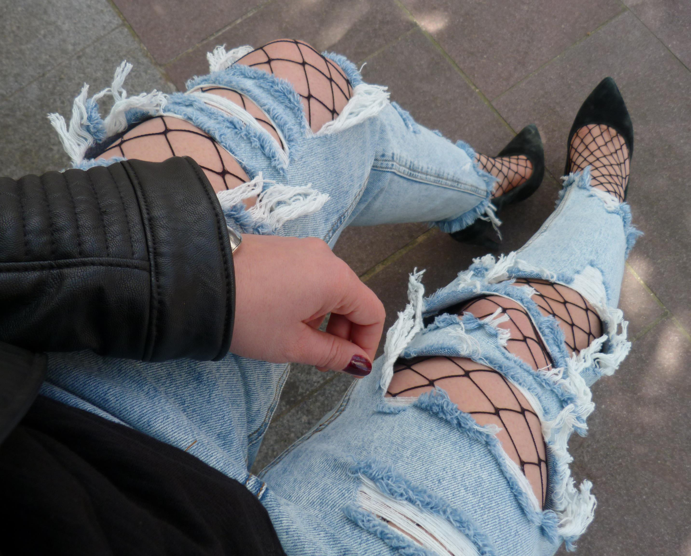 Ripped jeans Pull&Bear - Zoom