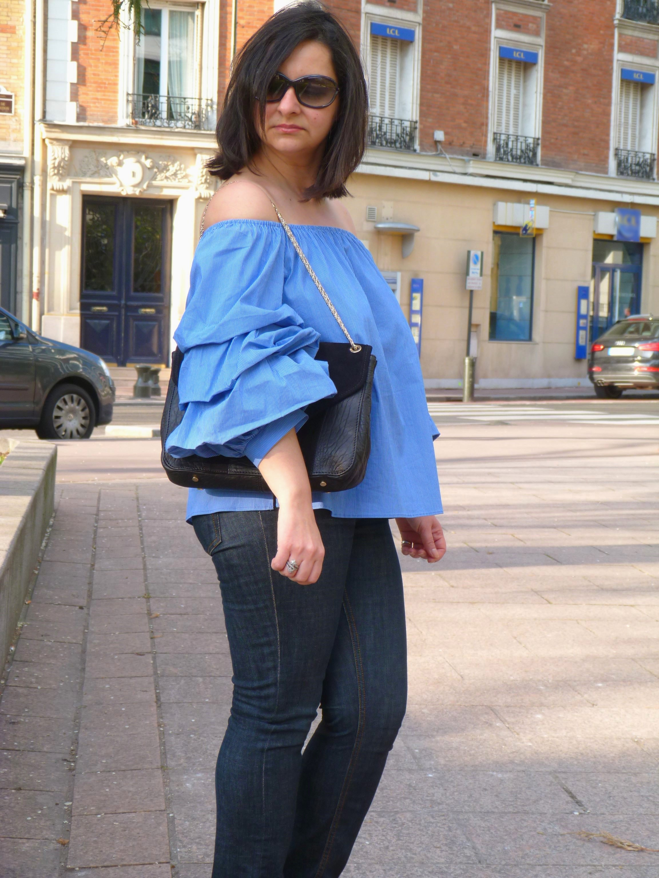Top volants Zara