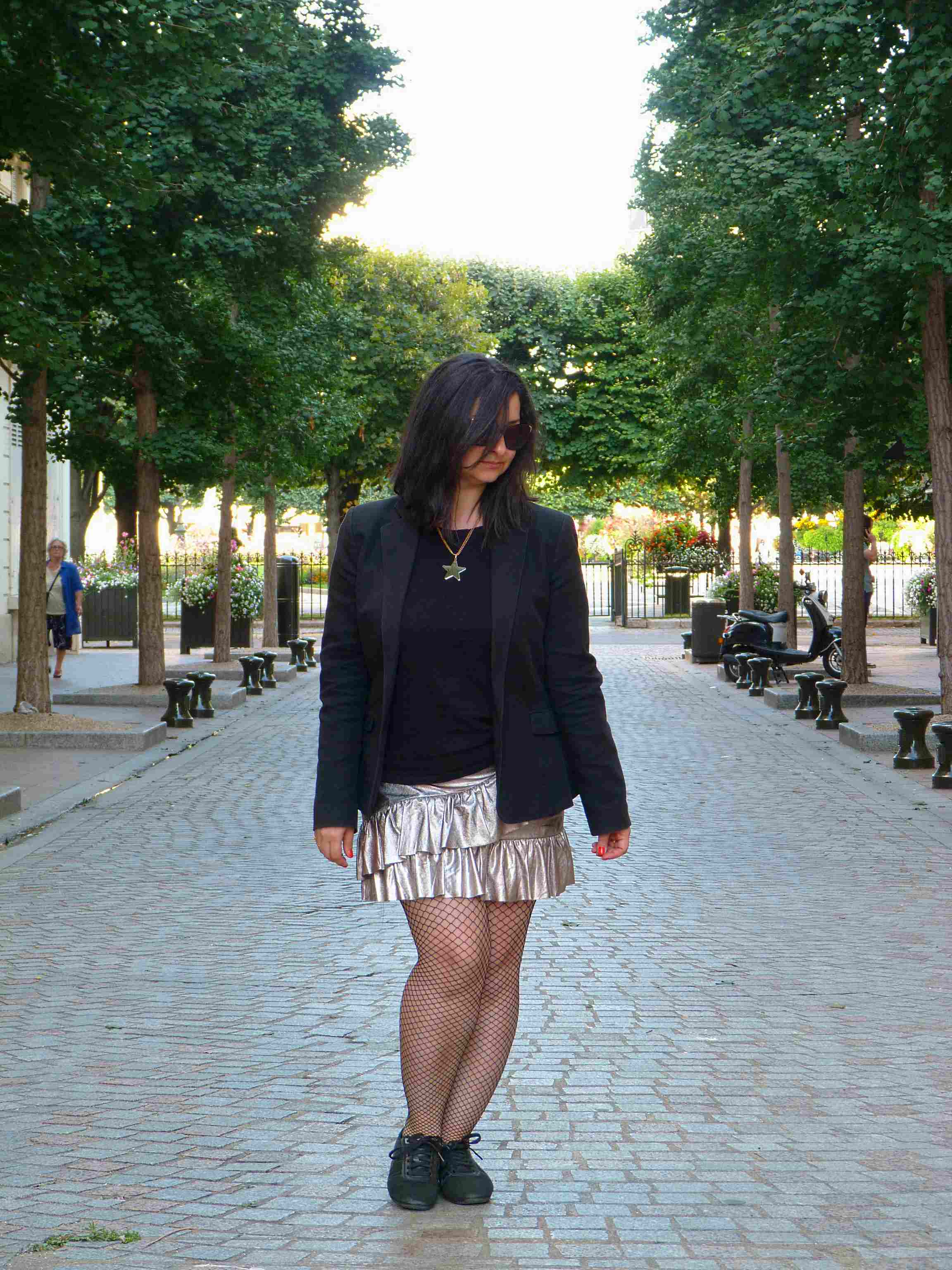 Metallic skirt - Pull & Bear (13)