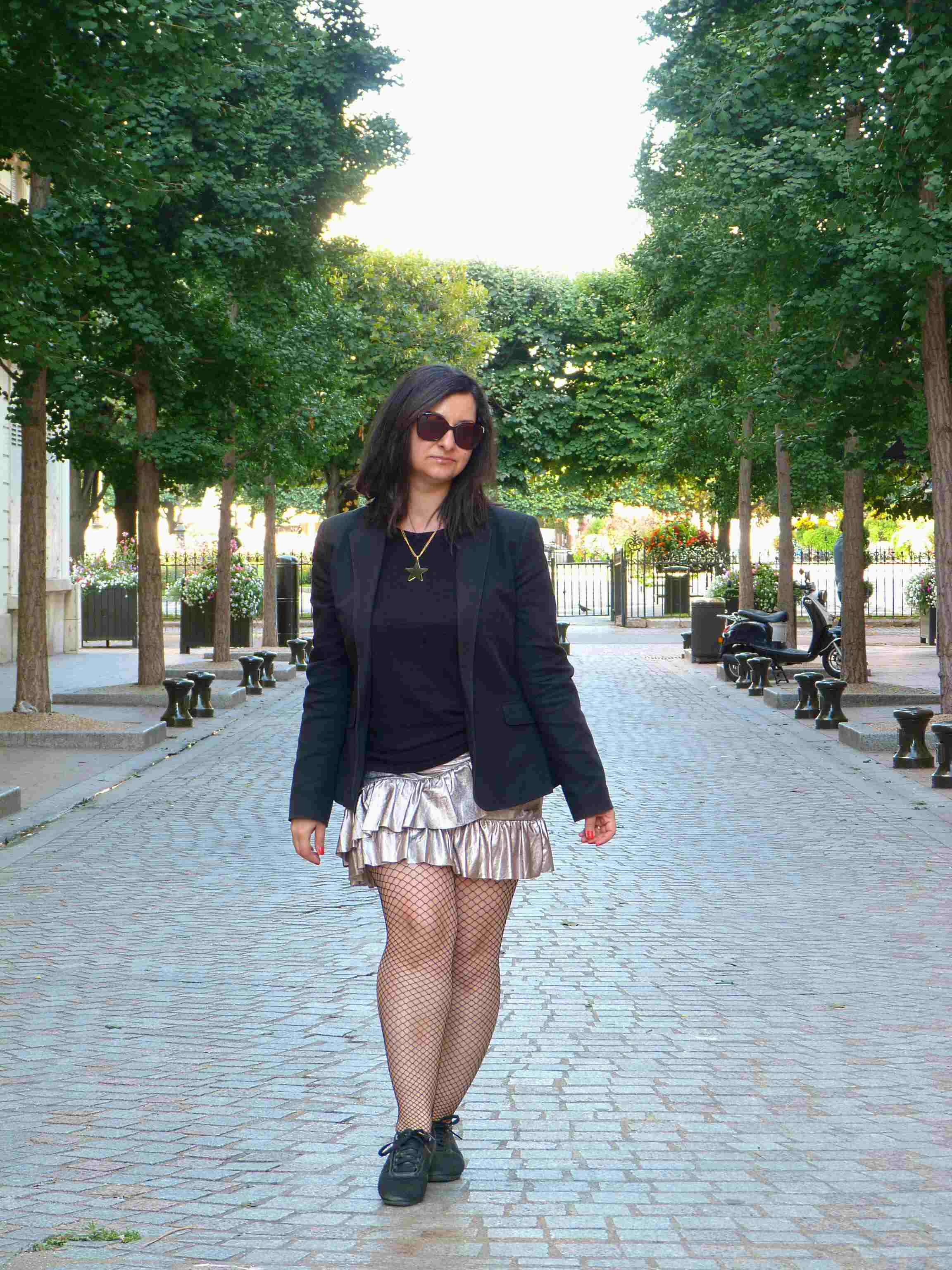 Metallic skirt - Pull & Bear (14)