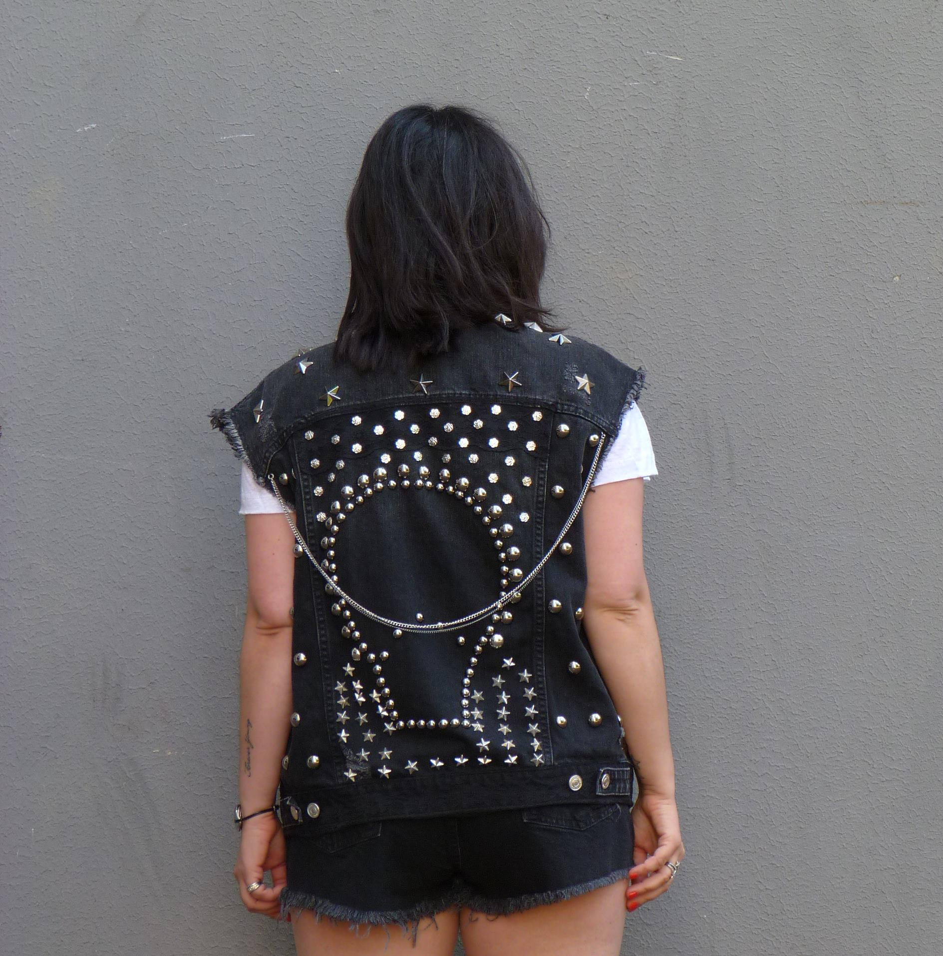 Studded jacket Zara (1)