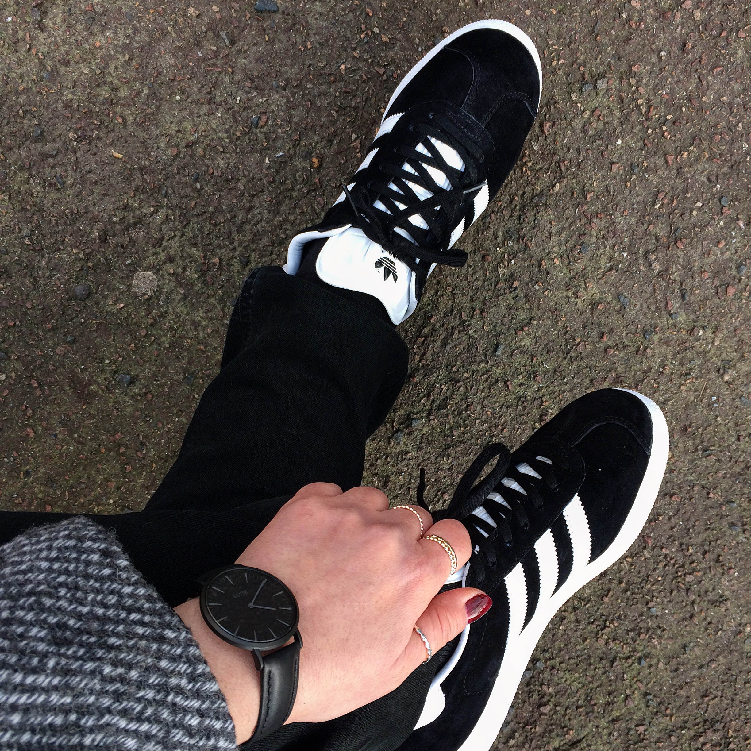 Gazelle Adidas Originals & Cluse watch la Boheme