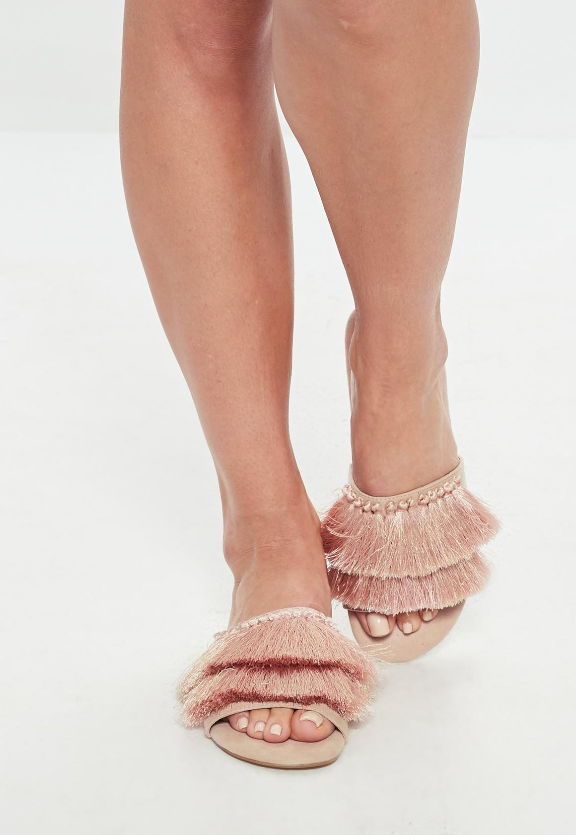 Missguided sandales franges