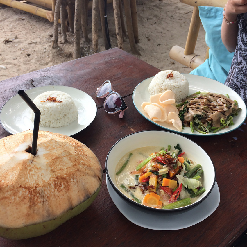 Lunch Gili Air