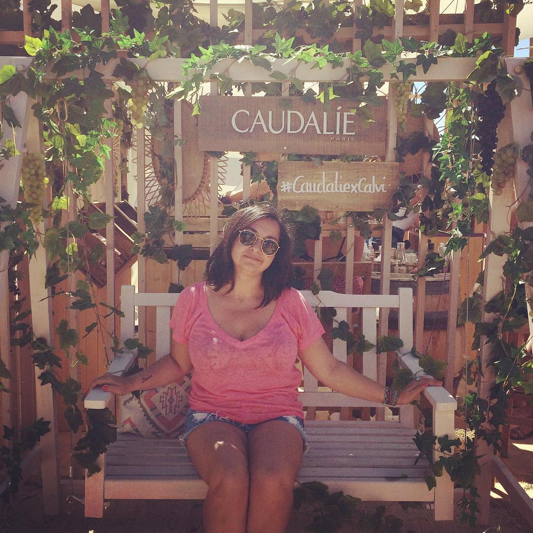 Calvi-On-The-Rocks-2018 - stand Caudalie