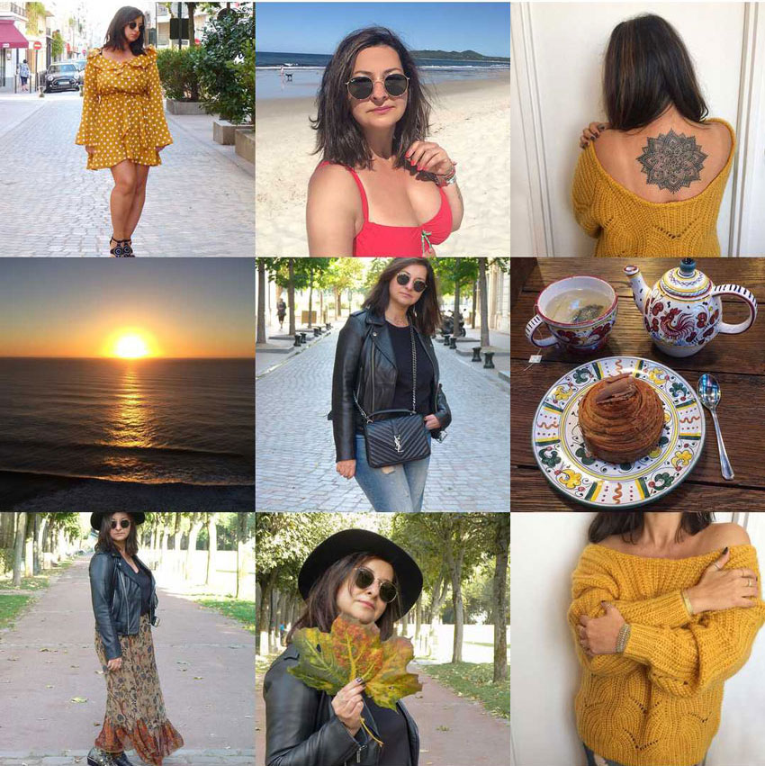 Best Nine 2018 Instagram