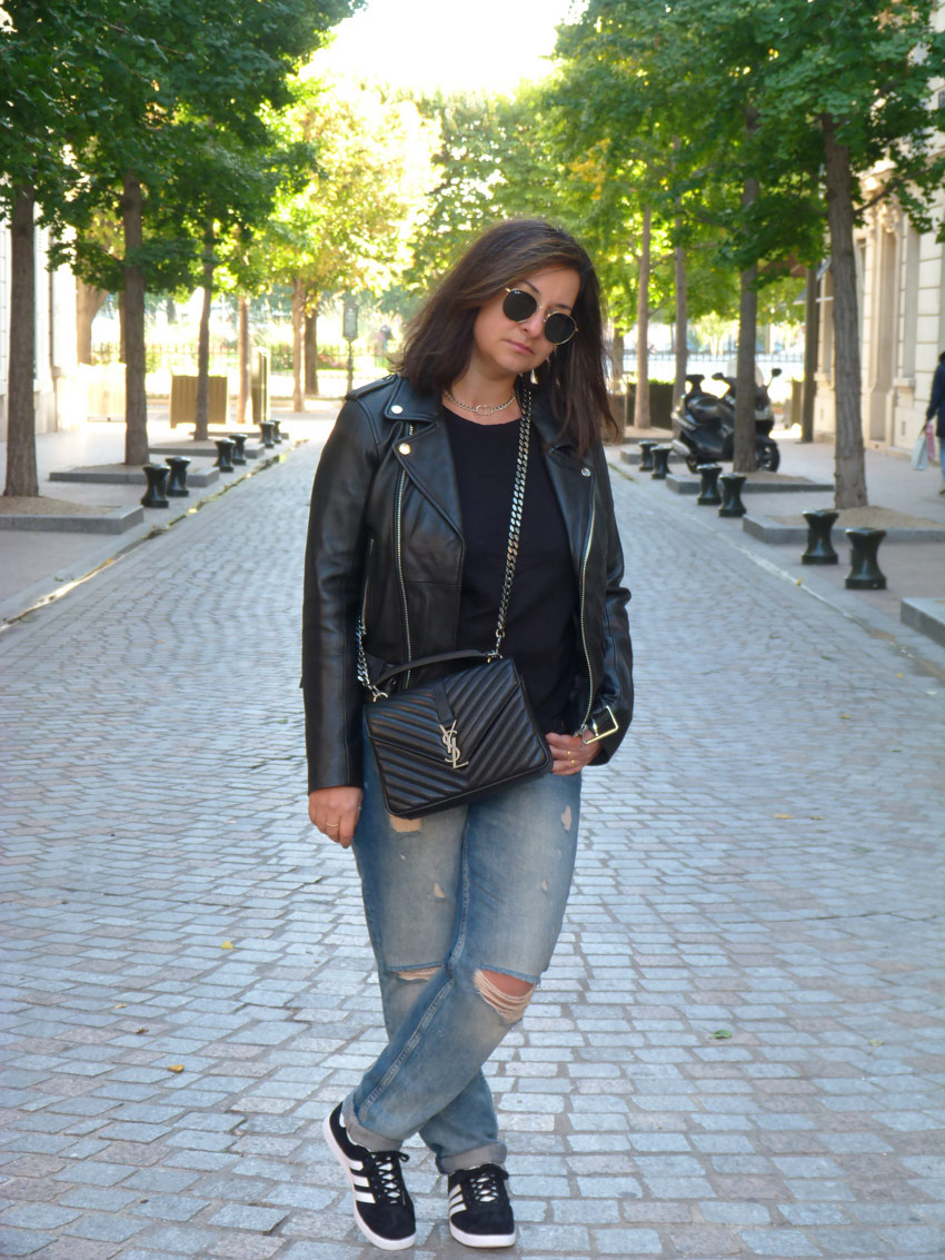 Casual outfit - YSL college monogramme (13)