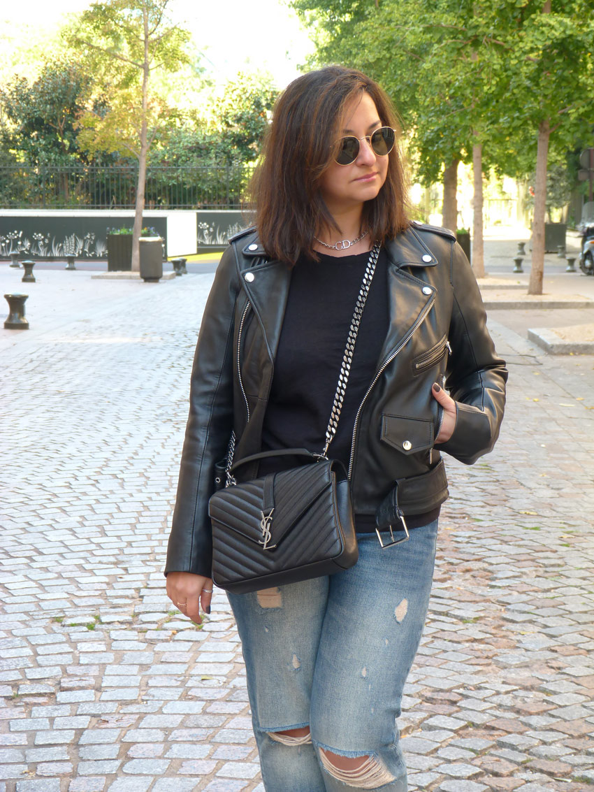 Casual outfit - YSL college monogramme (3)