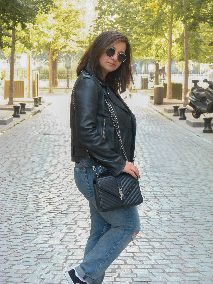 Casual outfit - YSL college monogramme (5)