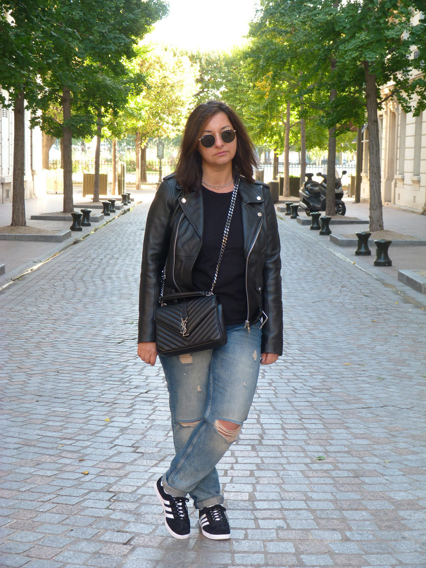 Casual outfit - YSL college monogramme (8)