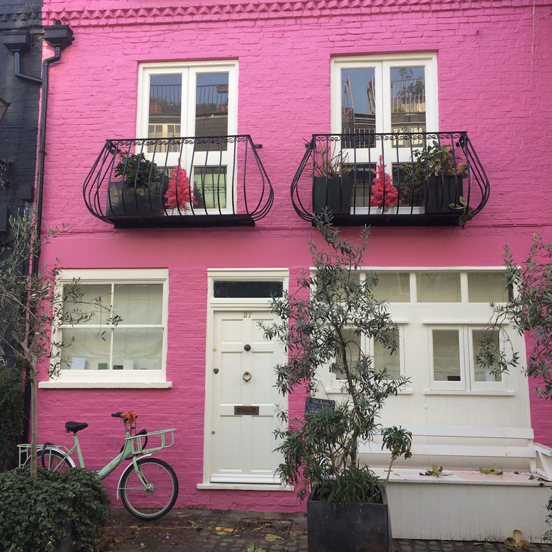 Notting Hill Pink House London