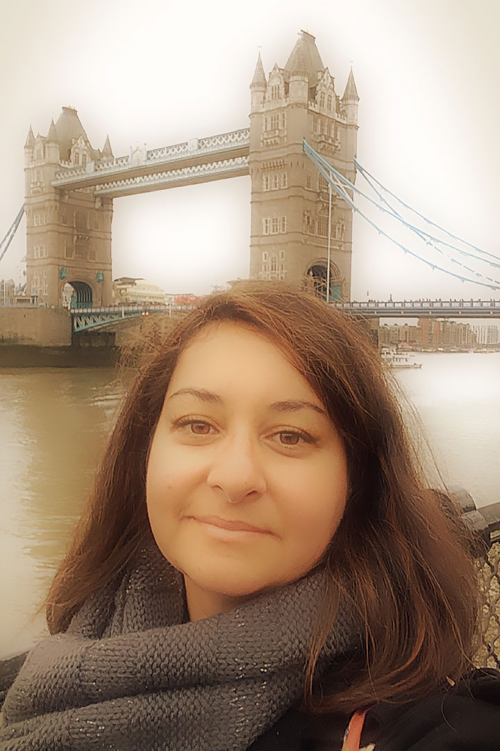 Tower Bridge London Selfie