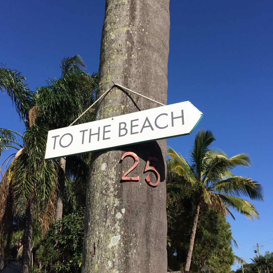 To the Beach - Byron Bay