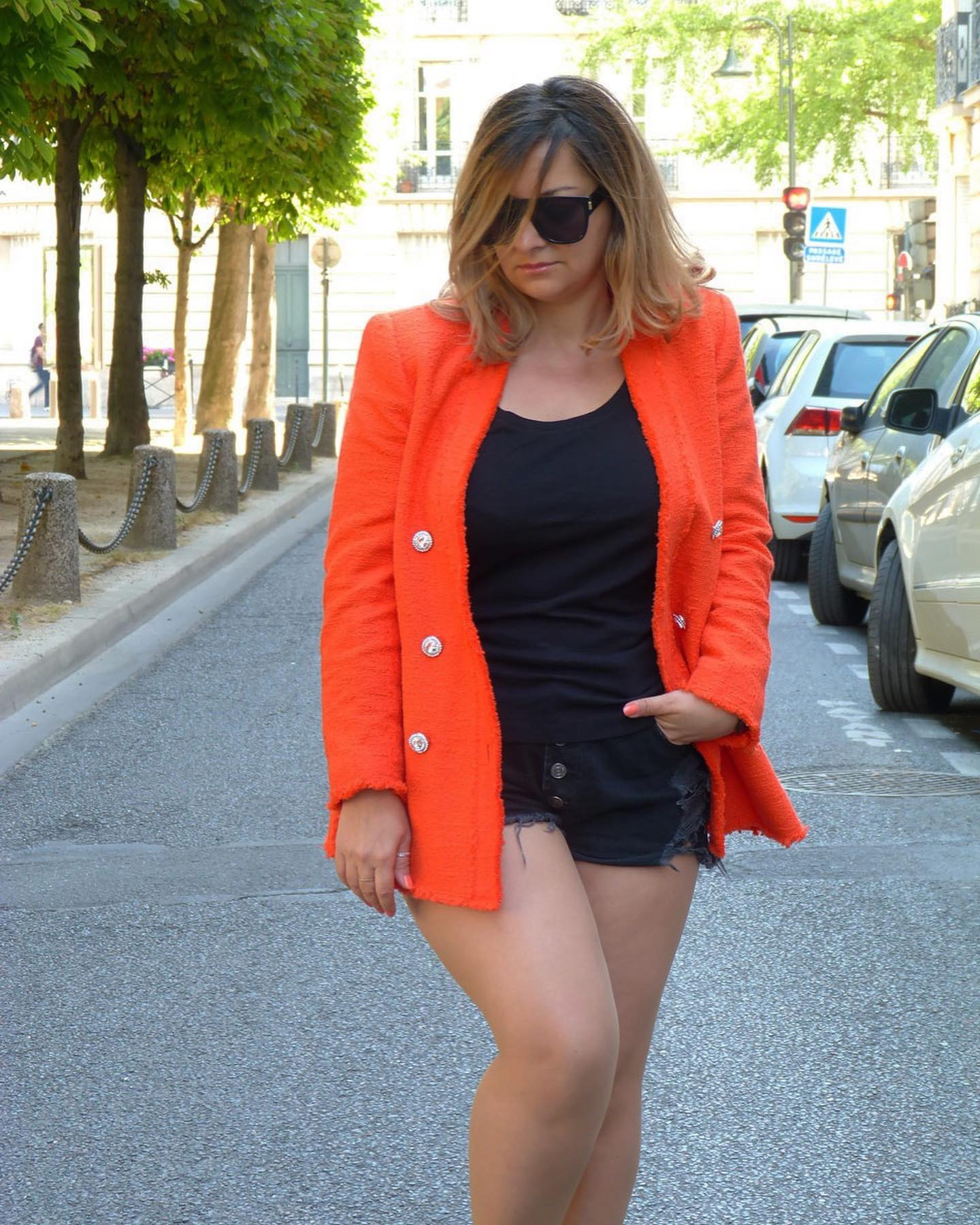 The-Trendy-Style-Veste-Zara-Orange-10