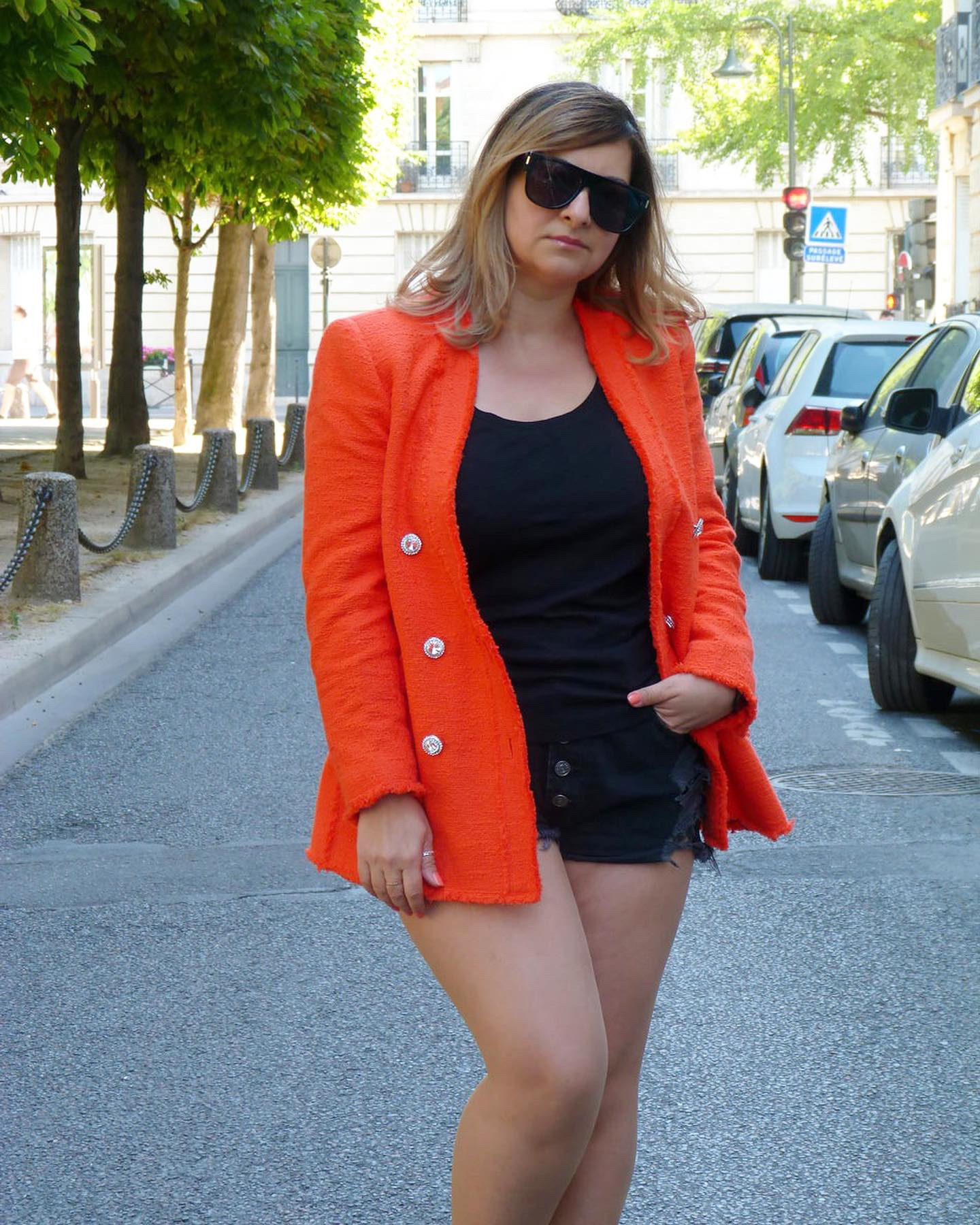 The-Trendy-Style-Veste-Zara-Orange-11