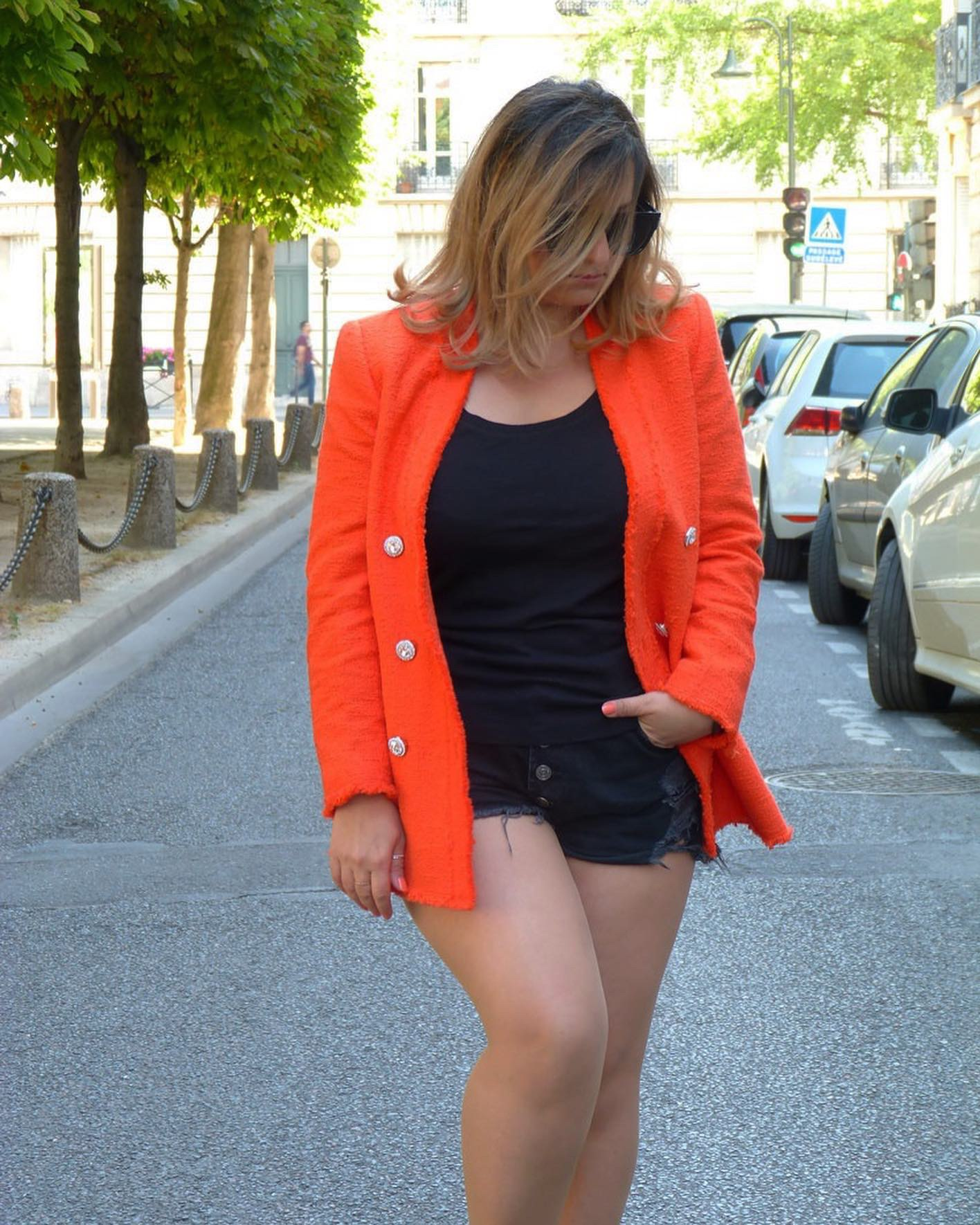 The-Trendy-Style-Veste-Zara-Orange-12