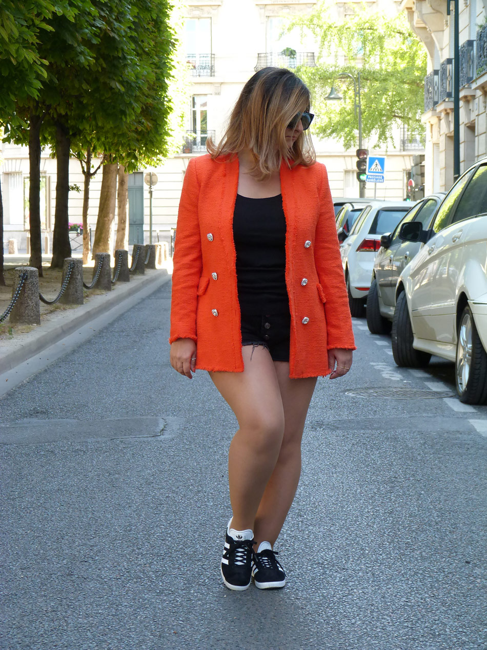 The-Trendy-Style-Veste-Zara-Orange-2