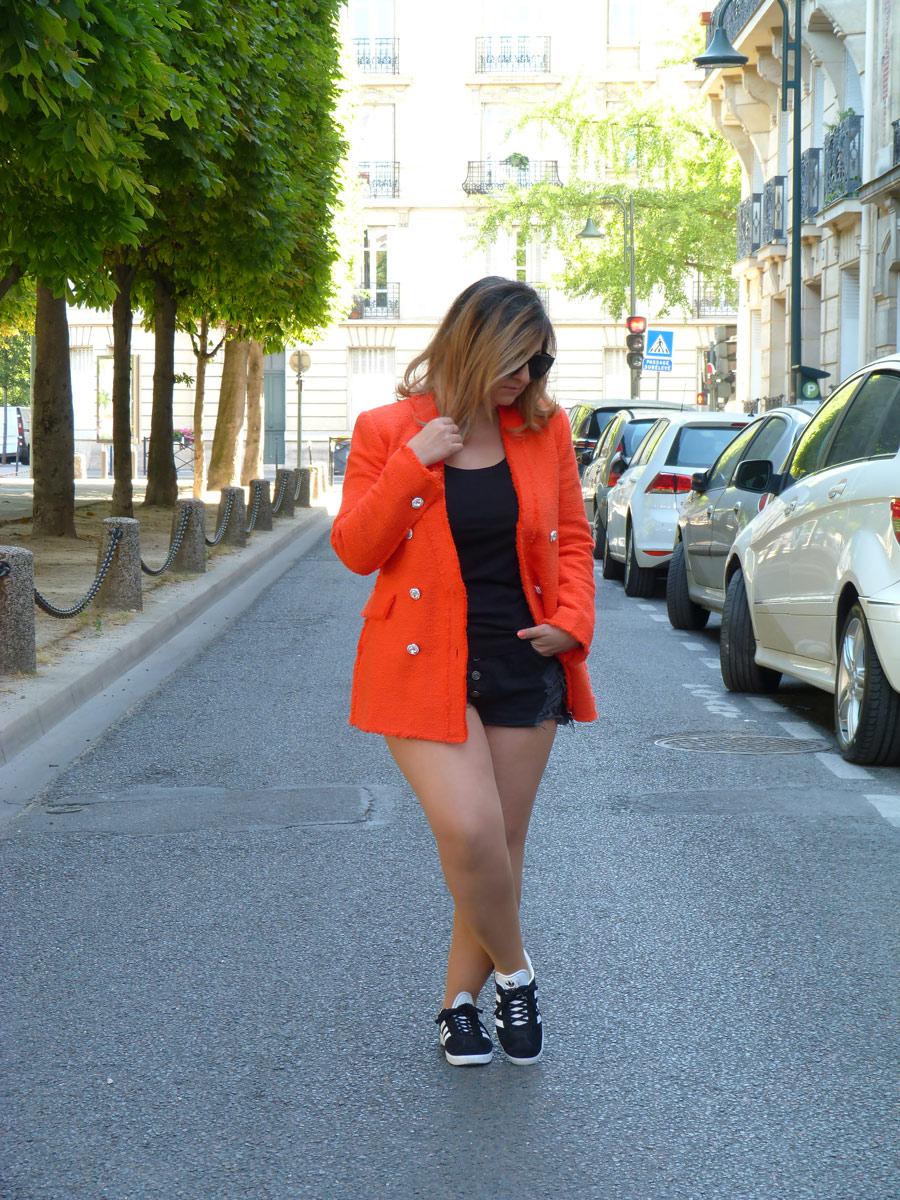 The-Trendy-Style-Veste-Zara-Orange-3