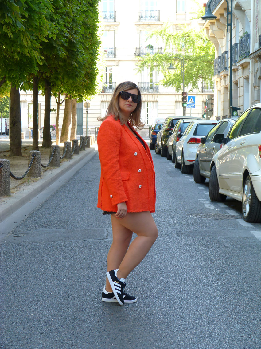 The-Trendy-Style-Veste-Zara-Orange-4