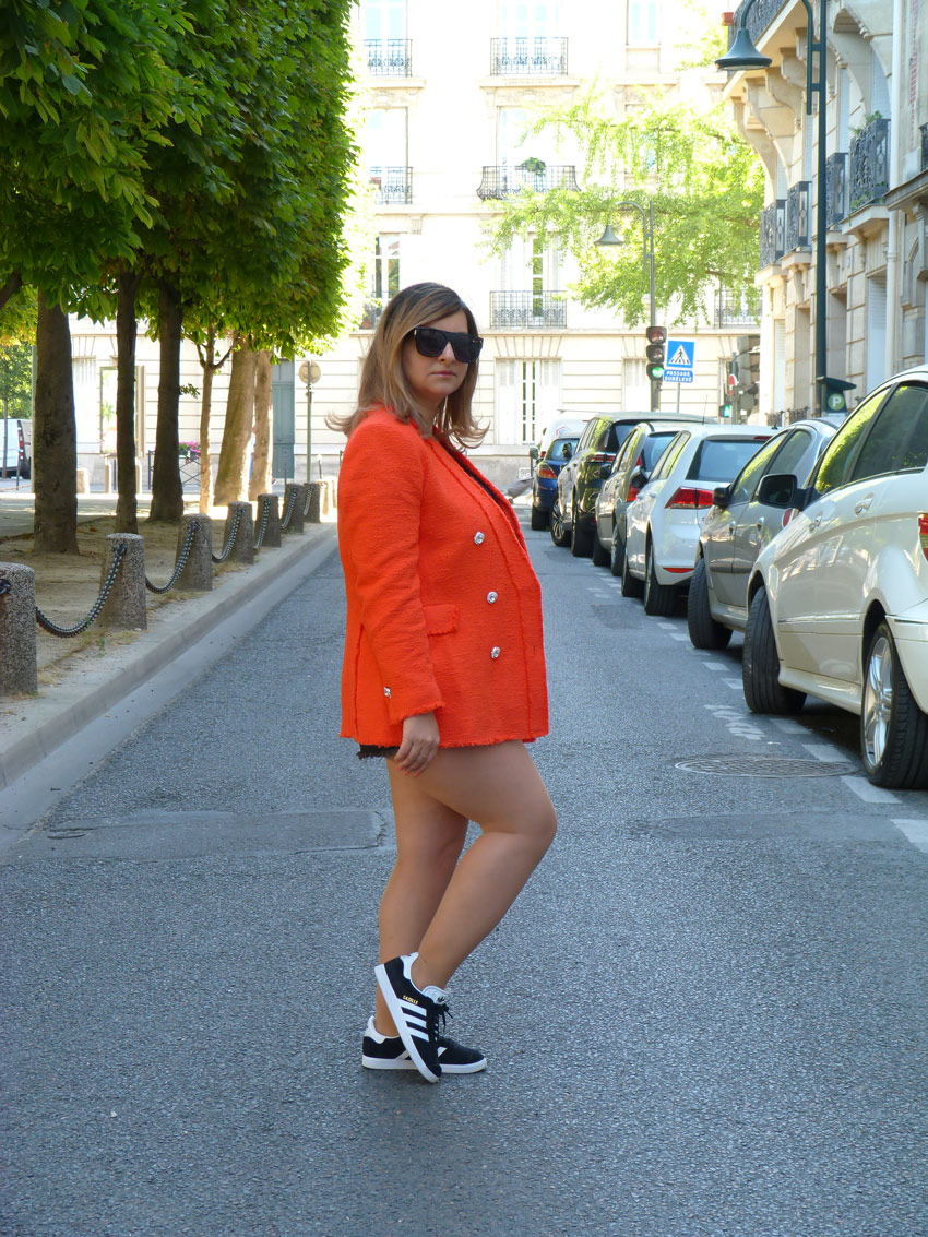 The-Trendy-Style-Veste-Zara-Orange-5